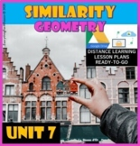 Unit 7. Similarity - Geometry * Distance Learning Ready-to