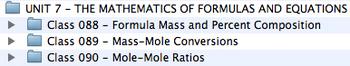 Unit 7 - The Mathematics of Formulas and Equations