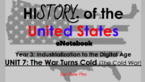 "Unit 7: ""The War Turns Cold"" 5th Grade Social Studies eNot"