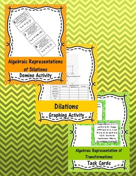 Unit 7 - Transformational Geometry - Activities - 8th Grade Math TEKS