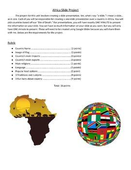 Unit 8 - Africa Bundle