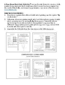 PreCalculus: Analytic Geometry FOLDABLES Bundle