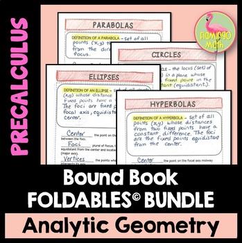PreCalculus: Analytic Geometry FOLDABLES© Bundle