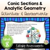 PreCalculus: Analytic Geometry Activities & Assessments Bundle