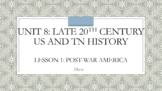 Unit 8 Bundle - Post WWII and the Civil Rights Movement