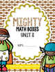 Unit 8 Challenge Math Boxes for Everyday Math 4,1st grade
