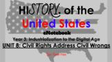"Unit 8: ""Civil Rights Movement"" 5th Grade Social Studies eNotebook {SS5H6.}"
