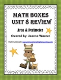 Unit 8 Everyday Math ~ Area & Perimeter ~ 4th Grade
