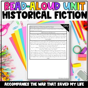 Unit 8-Gr. 5- Dive Into Reading- Historical Fict.-Interactive Read Aloud & More