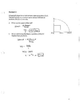 Unit 8 Notes Answer Key