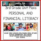 3rd Grade Lesson Plans Financial Literacy 3.9A 3.9B 3.9C 3