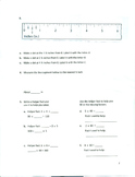 Unit 8 Review - Grade 3 Everyday Mathematics (Edition 4)