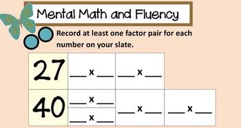 EM4. Unit 8. Everyday Math. Third Grade. SMARTboard Lessons. (Grade 3)