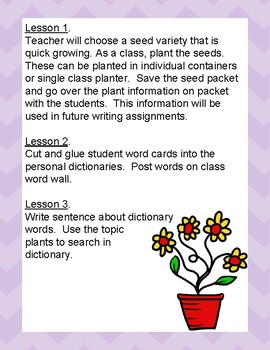 Unit 8 Writing Sentences From Information Learned