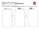 Wonders Writing Kindergarten -Unit 8 planners