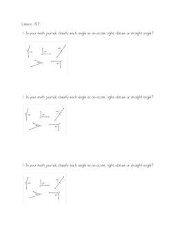 Unit 9- 4th Grade Thrive Math Journals