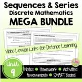 Sequences & Series MEGA Bundle with Lesson Videos (Unit 9)
