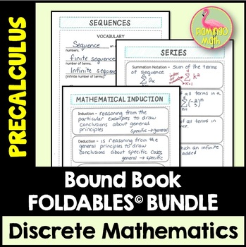 PreCalculus: Discrete Mathematics FOLDABLES© Bundle