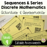Discrete Mathematics Activities and Assessments (PreCalcul