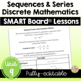 Sequences & Series SMART Board® Lessons (Unit 9)