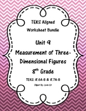 Unit 9 - Measurement of Three-Dimensional Figures-Workshee