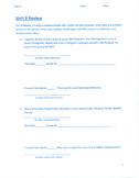 Unit 9 Review - Grade 3 Everyday Mathematics (Edition 4)