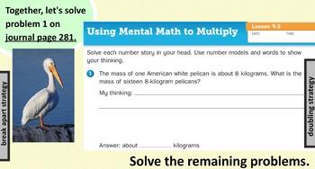 EM4. Unit 9. Everyday Math. Third Grade. SMARTboard Lessons. (Grade 3)