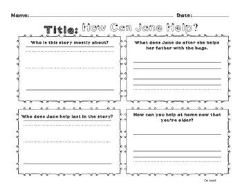 Unit 9 Week 1 Kindergarten McGraw Hill Wonders Guided Reading Supplemental Pack
