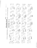Unit 9 Worksheet: Writing Chords in the Major Scale