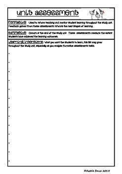 Unit Assessment Master