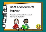Unit Assessment Master