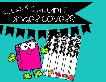 Unit Binder Covers