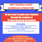 Unit Bundle: American Literature Unit of Early-American Texts