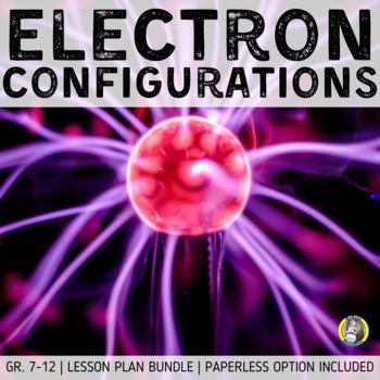 Lesson Plan Bundle: Electron Configurations