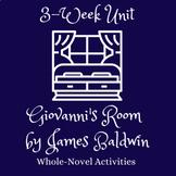 Unit Bundle | Giovanni's Room by James Baldwin | Whole-Nov
