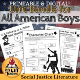 All American Boys by Jason Reynolds & Brendan Kiely Novel Unit Bundle