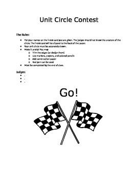 Unit Circle Contest