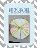 Unit Circle Foldable