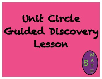Unit Circle Guided Discovery