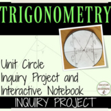 Unit Circle Inquiry and Project with EDITABLE RUBRIC