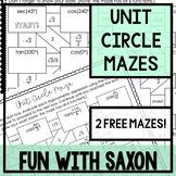 Unit Circle Maze (FREE!)