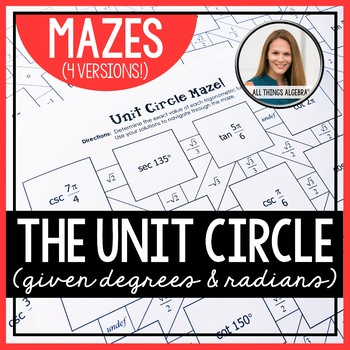 Unit Circle Mazes