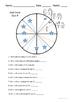 Unit Circle Quiz - 4 Versions with Keys
