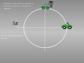 Unit Circle, Radians, & Coterminal Angles