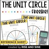 Unit Circle Reference Sheet
