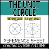 Unit Circle Reference Sheet