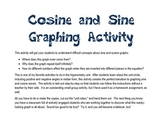 Unit Circle Sine Cosine Graphing Activity