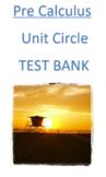 Unit Circle Test Bank