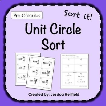 Unit circle trigonometry teaching resources teachers pay teachers unit circle trigonometry activity sort unit circle trigonometry activity sort fandeluxe Gallery