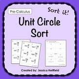 Unit Circle Trigonometry Activity: Sort